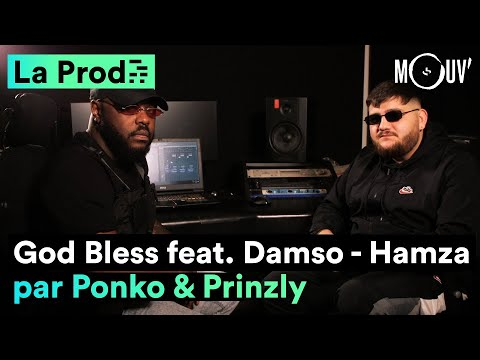 Youtube: Hamza ft Damso – « God Bless » comment Ponko et Prinzly ont crée le hit