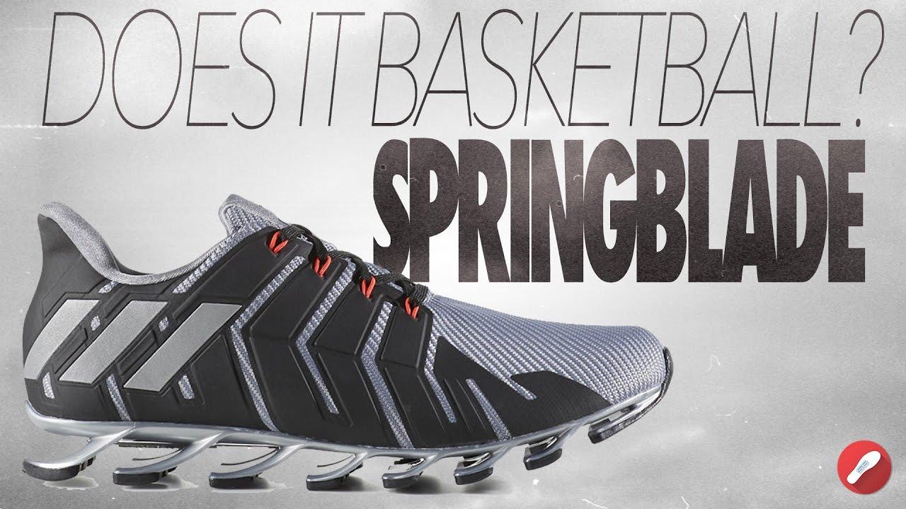 51f965efec9 Does It Basketball  Adidas Springblade! - YouTube