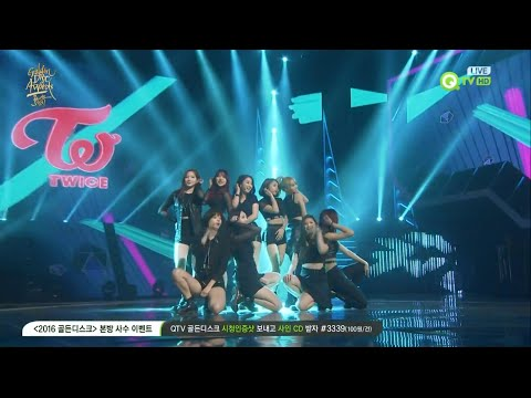 1080p 60fps TWICE - Like OOH-AHH @ 30th Golden Disk Awards
