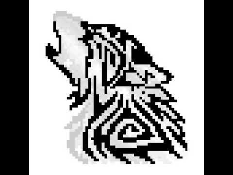 Loup En Pixel Youtube