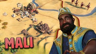Getting Started as Mansa Musa - Mali [#1] - Civilization VI Gathering Storm