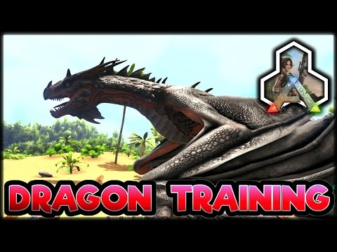 Ark Survival Evolved Dragon Training & New Update PATCH 256: -PS4 & Xbox One Console Gameplay