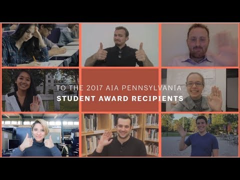 2017 Architectural Excellence Design Awards | Student Awards