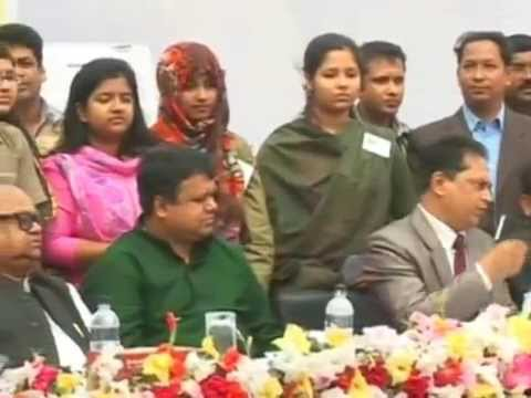 Tangail Zilla Parishad Scholarship distribution 2014