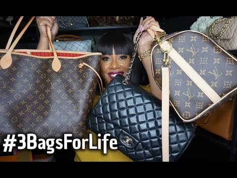 If I Could Only Have 3 Bags For Life 3bagsforlife
