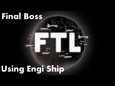 FTL Final Boss Run With Engi Ship