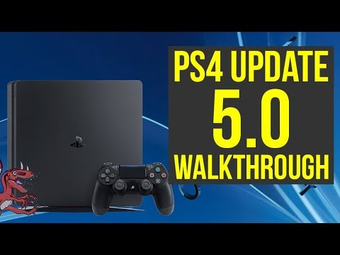 PS4 5.0 Update OUT NOW! Full Walkthrough of All Features! (PS4 Update 5.0 - PS4 Firmware 5.0)