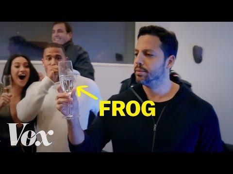 How David Blaine barfs frogs