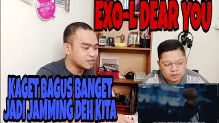 Download Lagu JAMMING LAGU EXO | ADA DEAR YOU BY EXO-L BALASAN LAGU PROMISE | SINGER REACTION mp3