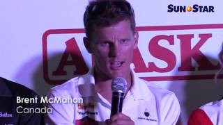 Brent McMahon on his experience in joing Ironman 70.3 in Cebu
