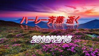【訃報】ハーレー斉藤氏 2016年12月15日 ハーレー斉藤 検索動画 3