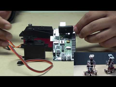 Robokits Arduino Uno Based 18 Servo Controller Board - An Introduction