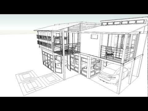 Casa de playa con contenedores youtube - Casas hechas con contenedores precios ...