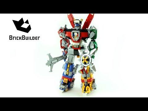 Lego Ideas 21311 Voltron - Lego Speed Build