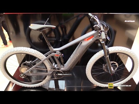2017 BMC Concept Pedal Assist Mountain Bike - Walkaround - 2016 Eurobike