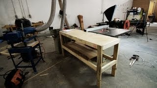Make A Multipurpose Out-Feed Table - JWS podcast