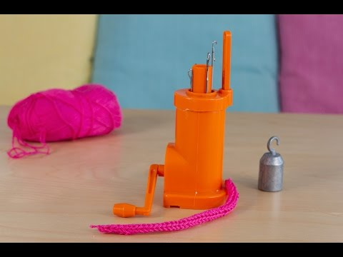 DIY Utiliser un tricotin mécanique