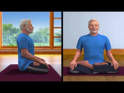 Yoga with Modi : Dhyana English