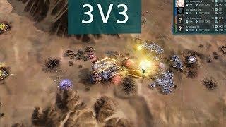 3v3 Team Battle - Ashes of the Singularity: Escalation [Shoutcast]