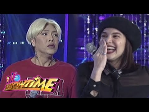 It's Showtime Miss Q & A: Anne notices something on Vice Ganda's nose