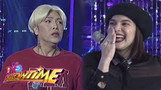 It's Showtime Miss Q and A: Anne notices something on Vice Ganda's nose