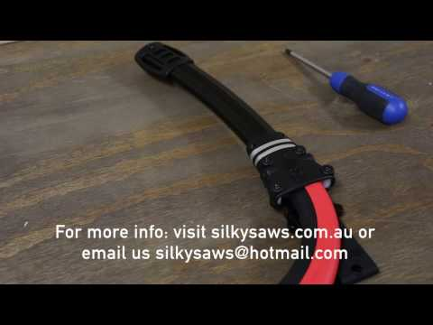 Left Handed Curved Silky Saw