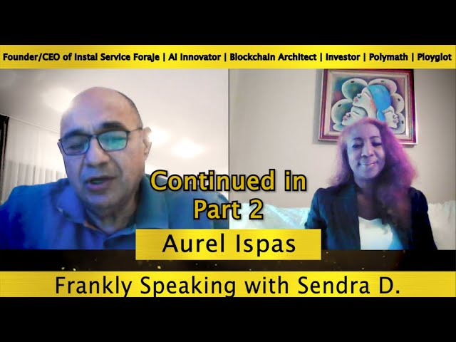 A WIDE LOOK AT LOOK AT THE WORLD OF ROBOTIC WITH MR. AUREL ISPAS Part 2