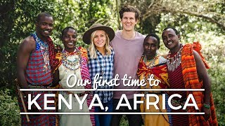 Our first time to KENYA, AFRICA || Service Travel Diary