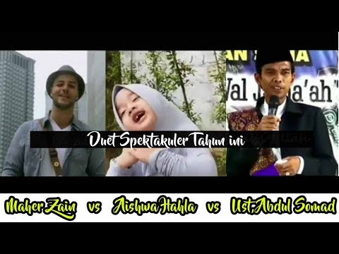 LUAR BIASA!!! AISHWA NAHLA DUET Feat MAHER ZAIN & UAS