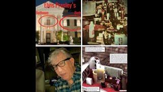 UNSEEN photos of Elvis Presley DEATH BATHROOM where he DIED & his Bedroom upstairs inside Graceland