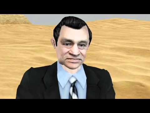 Fred Interviews Hosni Mubarak