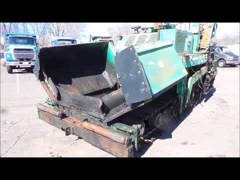 1988 Barber Greene BG225B paver for sale at auction | bidding closes April 26, 2018