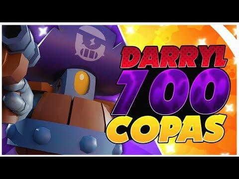RODANDO HASTA LA VICTORIA | DARRYL EN 700 COPAS *BRAWL STARS*