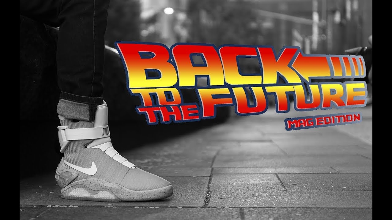 7f26bee2c31 Back To The Future - Nike Mag Edition 2018 Commercial