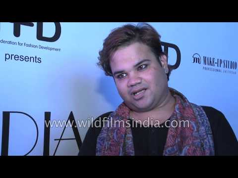 Akash K. Agarwal, fashion jewellery designer speaks about the India Runway Week in New Delhi