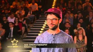Sebastian Linda & Marti Fischer gewinnen AAA Cinematography und AAA Sound - Deutscher Webvideopreis