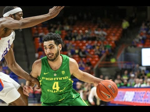 Highlights: Oregon men's basketball shakes off sluggish start to defeat Boise State