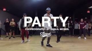 Chris Brown - Party | Khalil Mcneil Choreography @chrisbrown