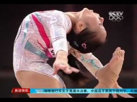 鄧琳琳 Deng Linlin - Interview after she got the gold  medal of BB final