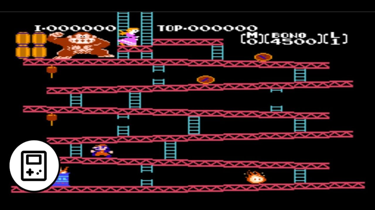 Donkey Kong Original - Games Of The 80s y 90s
