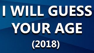 I Will Guess Your Age 2018 | Simple Maths Trick | Letstute