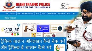Virtual Court Portal for Delhi Traffic Challan Pay Online | Delhi Traffic Police Challan Payment
