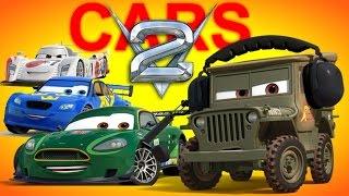 150 kinder surprise cars surprise eggs disney pixar cars 2 киндер сюрпризы тачки