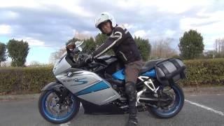 大型リッターバイク 究極な発進方法は? これならUターンもできる。BMW K1200S