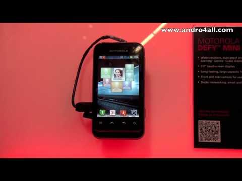 Motorola Defy Mini MWC 2012 [HD]