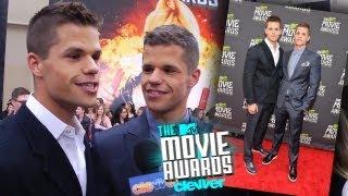 Charlie & Max Carver Interview - 2013 MTV Movie Awards