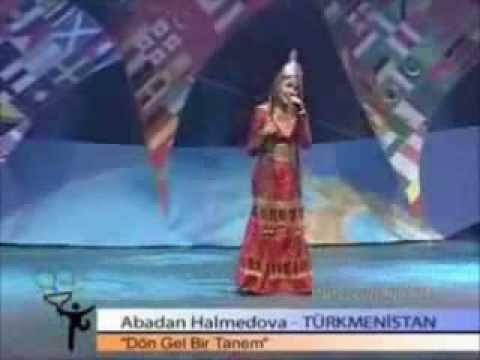 Dön Gel Birtanem -  Abadan Halmedova - Güneşe yıldızlara Sorar seni ararım 回来甜心Halmedov阿巴丹飞往太阳星星