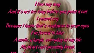 Kelly Clarkson - Because Of You (Lyric Video)