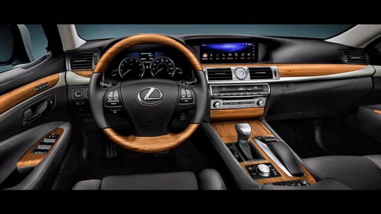 2016 Lexus Ls 460 Interior Youtube