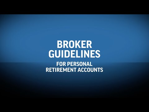The New Broker Guidelines